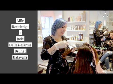 Allie Routledge and Jade Team up - Brunet Balayage