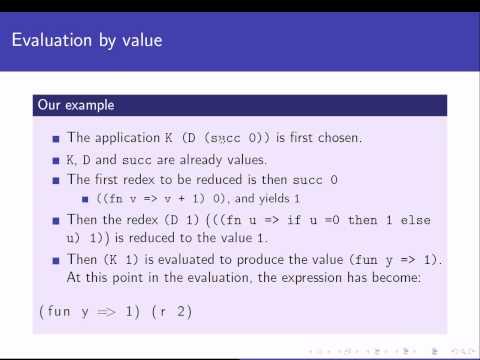 Programming Languages: The functional paradigm - 3