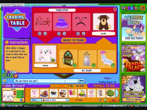 Trading with people on webkinz youtube trading with people on webkinz sciox Choice Image