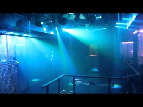 Music Club Zlatý Strom - Lights controlled by DMX Music Visualization
