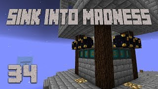 ►INVINCIBLE MOBS! | Sink Into Madness #34 | Modded Minecraft◄ | iJevin
