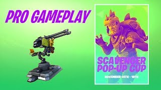 SCAVENGER POP UP CUP - 15K Kayuun Fortnite Battle Royale Gameplay