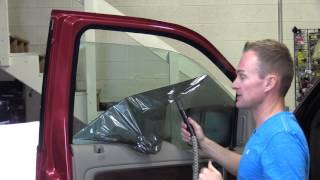 How To Remove Old Tint From Front Windows--Any Vehicle