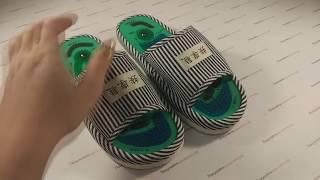 Тапочки массажно магнитные: честный видеообзор