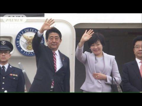 安倍総理がAPECへ出発 日中首脳会談が焦点に(14/11/09)