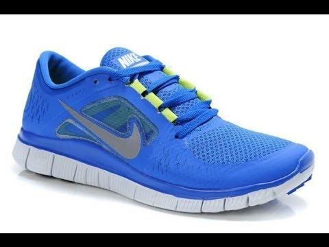 Nike Free Run +3 - Blue/Volt