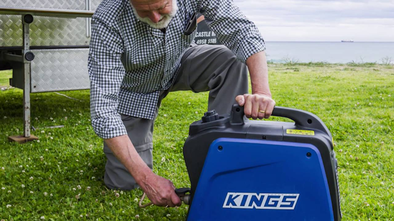 2Kva Kings Generator fred shows us the features of the kings 2kva generator!