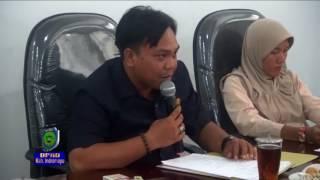Komisi I DPRD Indramayu Evaluasi Program Kerja Semester I Tahun 2017