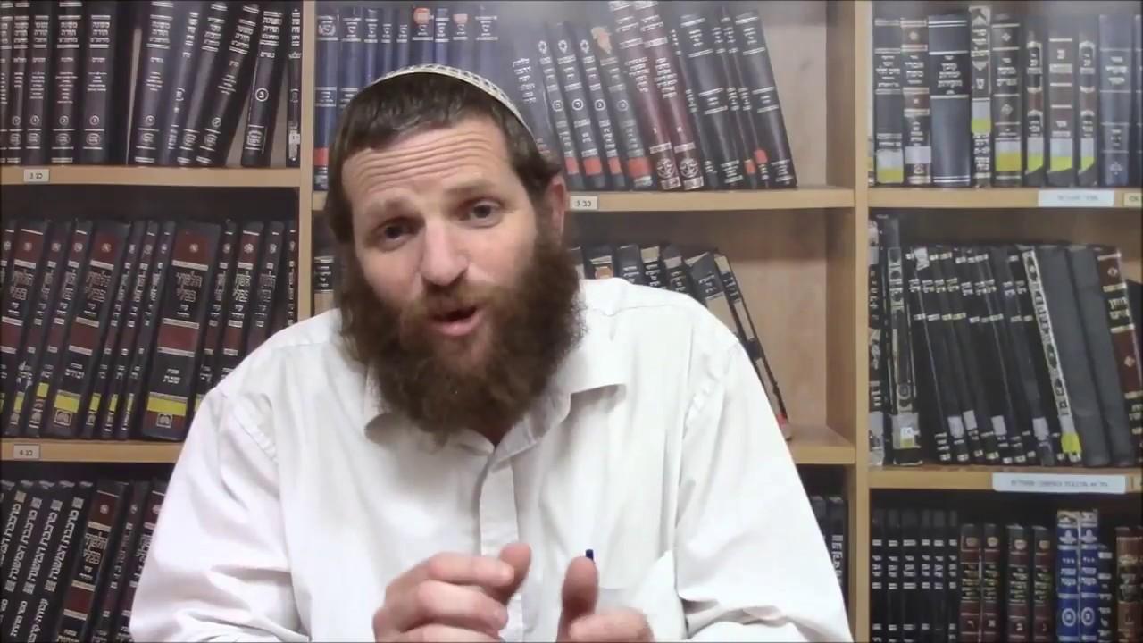 מעשר שני וירושלים - דבר תורה לפרשת בחוקותי - הרב דודי ליטמן