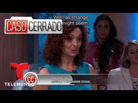Caso Cerrado | She Gets Aroused While Breast Feeding | Telem