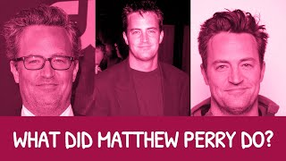 Matthew Perry ❤ 13 Questions Answered
