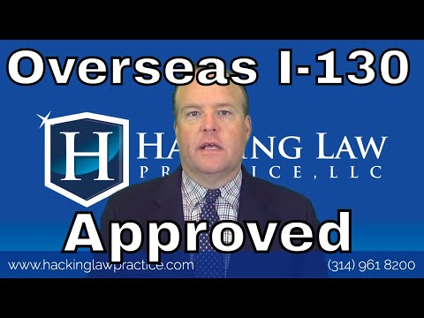 After the Overseas I-130 is Approved