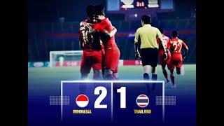 INDONESIA JUARA - HIGHLIGHT INDONESIA VS THAILAND DI FINAL AFF LG CUP 2019 U-22 | 2 - 1