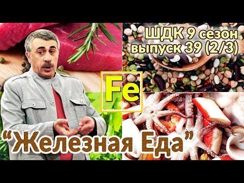 «Железная» еда - Доктор Комаровский