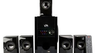 VM Audio 5.1 Home Surround Sound System   EXMS513