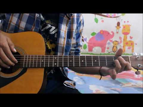 Tera Zikr - Darshan Raval - Guitar Cover Lesson Hindi Chords Easy
