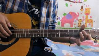 Tera Zikr Darshan Raval Guitar Cover Lesson Hindi Chords Easy