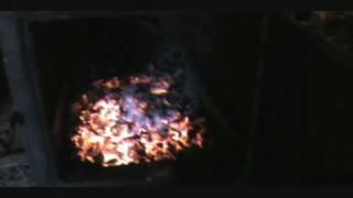 My Wood Stove I Built To Heat My House