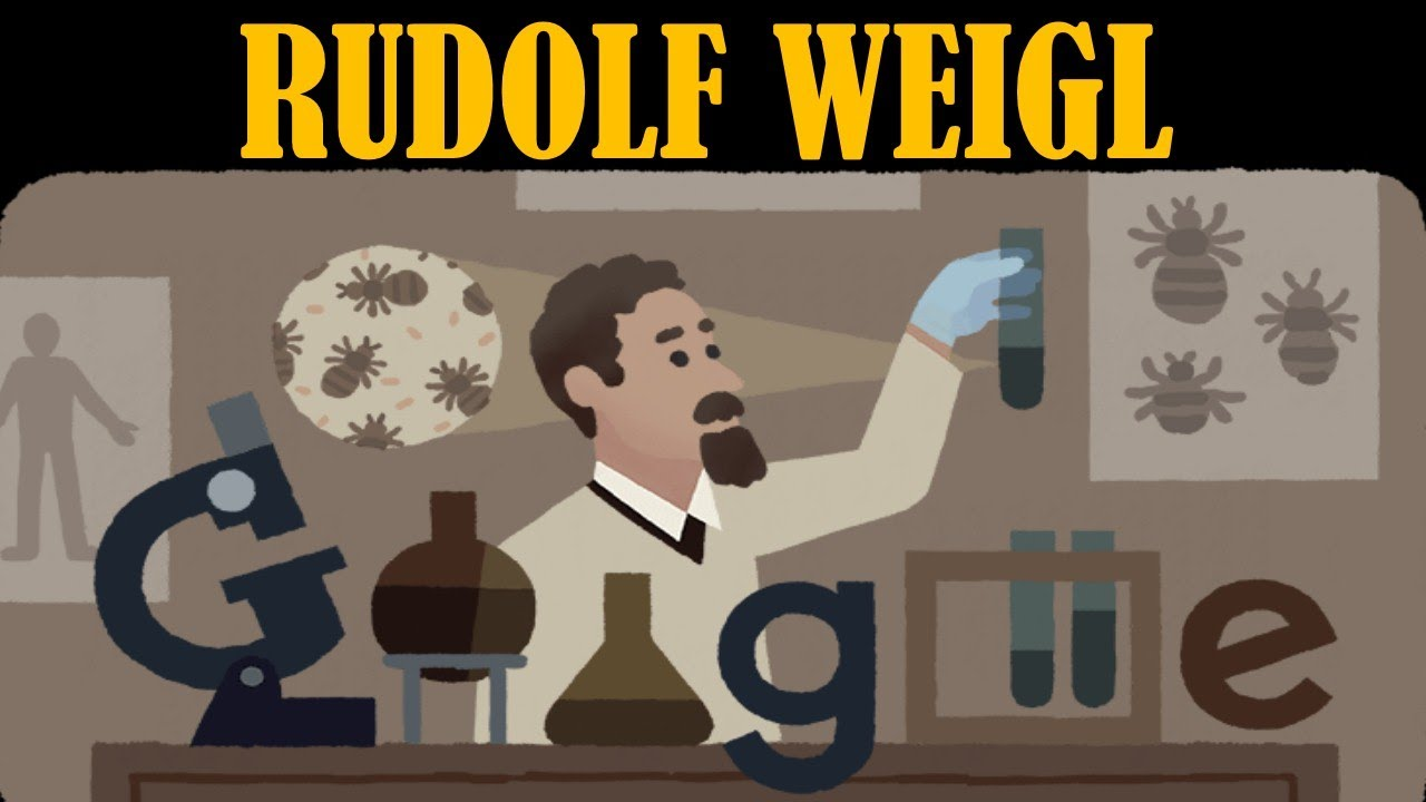 Google Doodle Celebrates Rudolf Weigl, Scientist Who Produced ...