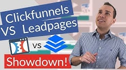 ClickFunnels vs Leadpages Landing Page Software Showdown: Which One Is Better? (Honest Review)