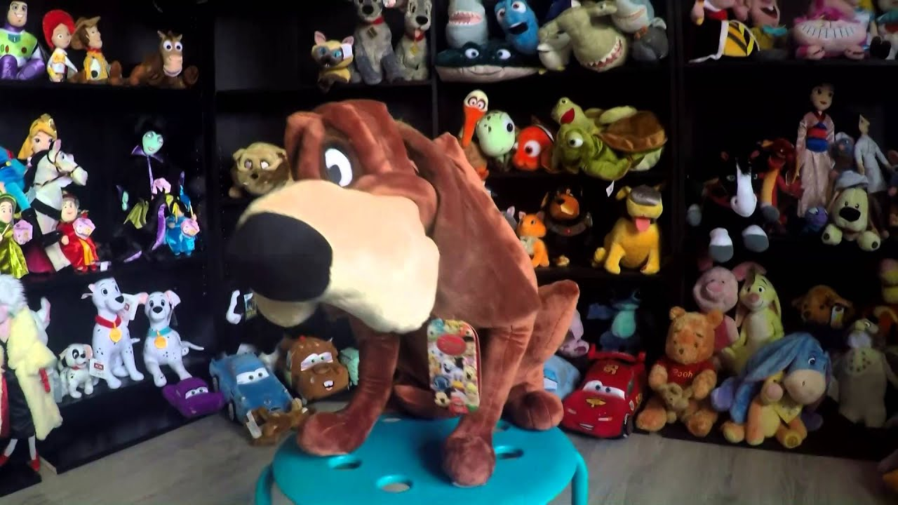 Lady And The Tramp Disney Store Plush Youtube
