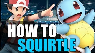 How To Pokemon Trainer ( Squirtle ) - Guide + Tutorial   Super Smash Bros. Ultimate