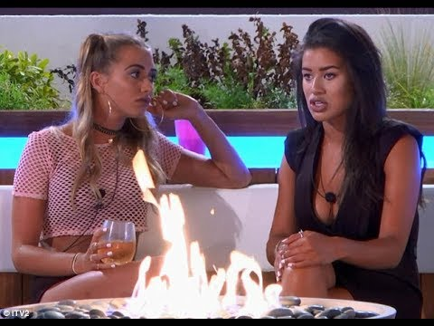 Love Island's Montana brands her best friend Camilla 'draining'... hours after the Scottish beauty