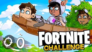 NO KILL Challenge!! - Fortnite Battle Royale w/ Wildcat & BasicallyIDoWrk