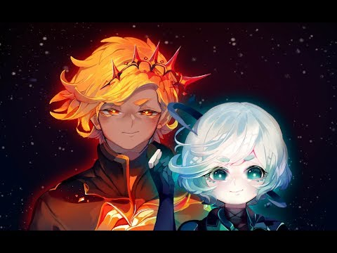 Sun / Moon -Anime   SpeedPaint   Paint Tool Sai