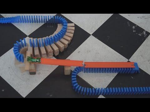 Hot Wheels + Dominoes