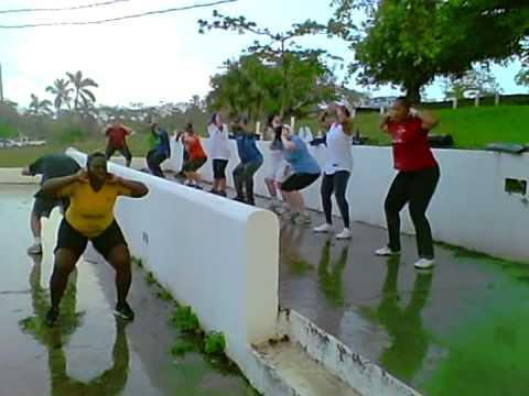 Outdoor Fitness Bahamas Video Clips Mar. 2012