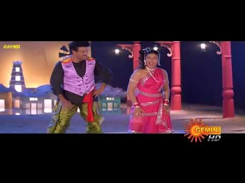 Raveena Tandon Hot Duet Bangaru Bullodu