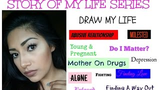 Story Of My Life Series DRAW MY LIFE 1 - Being Molested As A Child - Alexisjayda