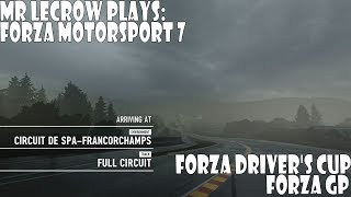 Mr LeCrow Plays Forza Motorsport 7: Forza Driver