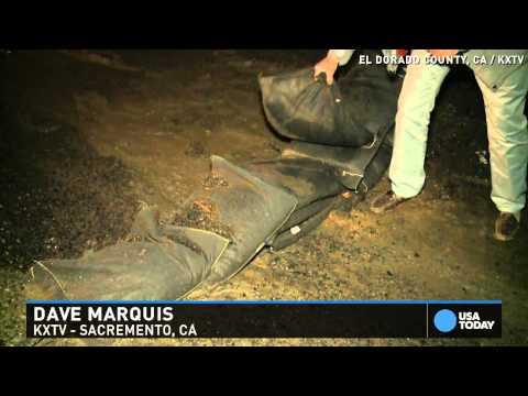 Mudslide Danger As Heavy Rains Arrive In California