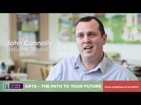 NUI Galway - Arts - The path to your future