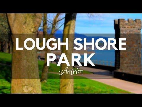 LoughShore Park Antrim - Lough Shore on Shore Road-Jordanstown-Newtownabbey Sunrise in 360 Degrees