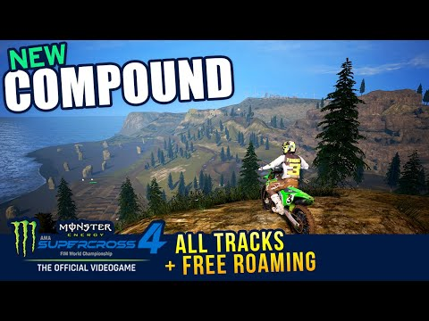 Monster Energy Supercross 4 - Compound Gameplay