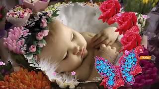 Очень нежное поздравление с новорожденной! Родилась принцесса!