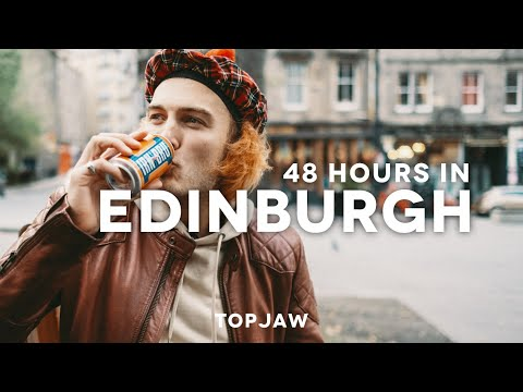 48 HOURS IN EDINBURGH - ft Speakeasy Bars, Freaky Orange Drink and Best Brunches
