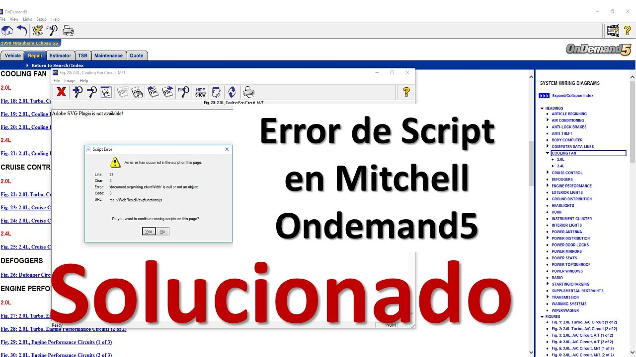 Error de Script Mitchell Ondemand5 [Resuelto]