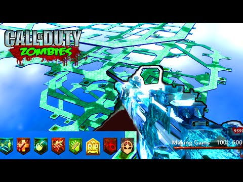 HARDEST SOLO ZOMBIES MAP EVER - CUSTOM ZOMBIES GAMEPLAY ...