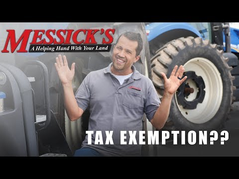 Farm Tax Exemption.. Surprise, More Complex Than It Sounds!