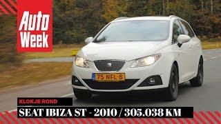 Seat Ibiza ST 1.2 TDI - 2010 / 305.038 km - Klokje Rond