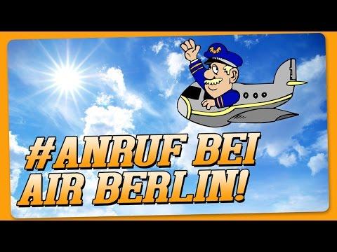 Anruf Live bei Air Berlin wegen Zigaretten #DutyFree