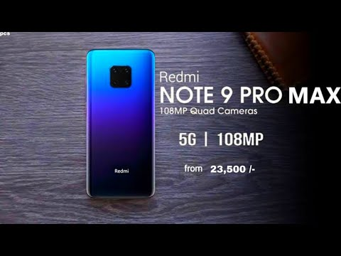 Xiaomi Redmi Note 9 Pro Max Full Specifications And Price In Bangladesh Official Video Youtube