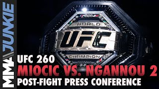 Archive UFC 260 post-fight press conference live stream - Part 1