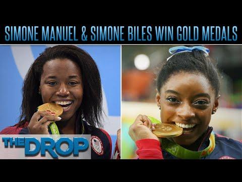 Simone Manuel, Simone Biles Win Gold in Rio  – The Drop Presented by ADD