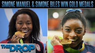 Simone Manuel, Simone Biles Win Gold in Rio  - The Drop Presented by ADD