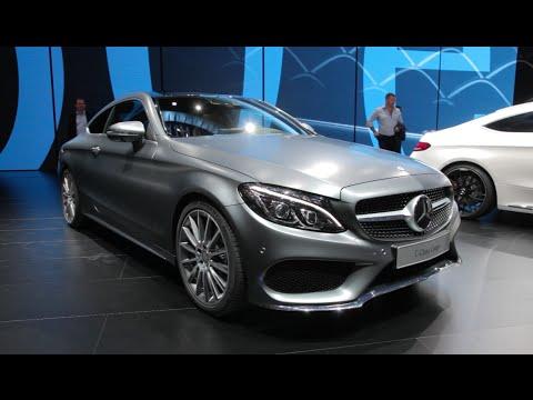 2017 Mercedes-Benz C-Class Coupe - 2015 Frankfurt Motor Show